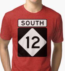 NC 12 - SOUTH Tri-blend T-Shirt