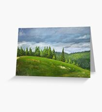 Bald Hill Greeting Card