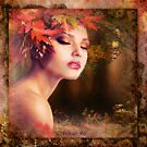 autumn lady by miras46