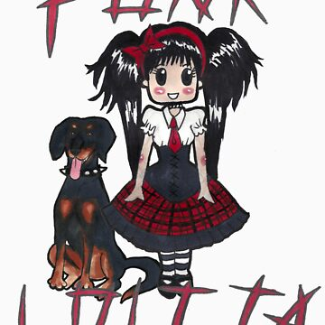 Punk Lolita by riannajaye
