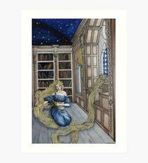 Rapunzel's Escape  Art Print