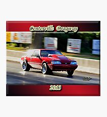 1990 Ford Mustang Photographic Print