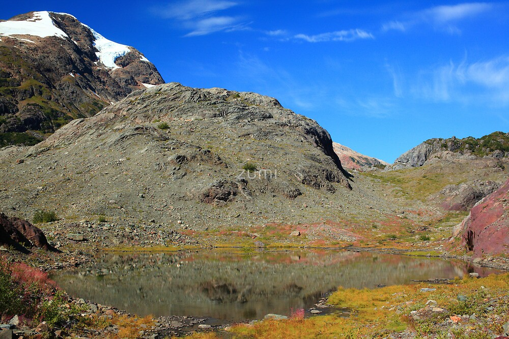 Glaciers and tarns III by zumi