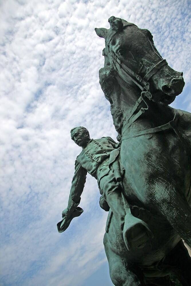 Borglum's General Philip Sheridan by Cora Wandel