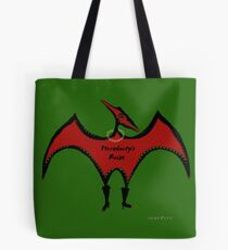 Pterodactyls Reign Green and Cherry Tote Bag