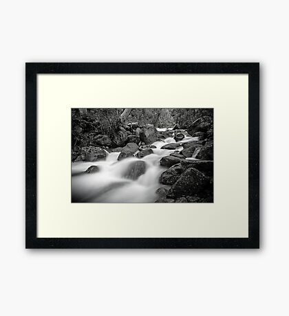 Trapped in Isolation Framed Print