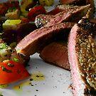 Steak & Salad by David Mellor