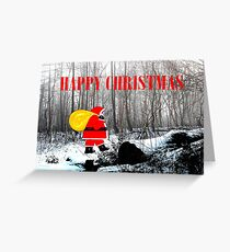 HAPPY CHRISTMAS 60 Greeting Card