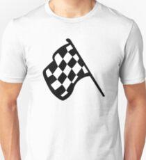 Grand Prix Flagge Slim Fit T-Shirt