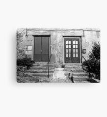 Door Number 1 or Door Number 2? Canvas Print