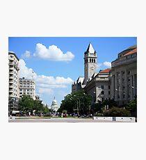 Downtown Washington Photographic Print