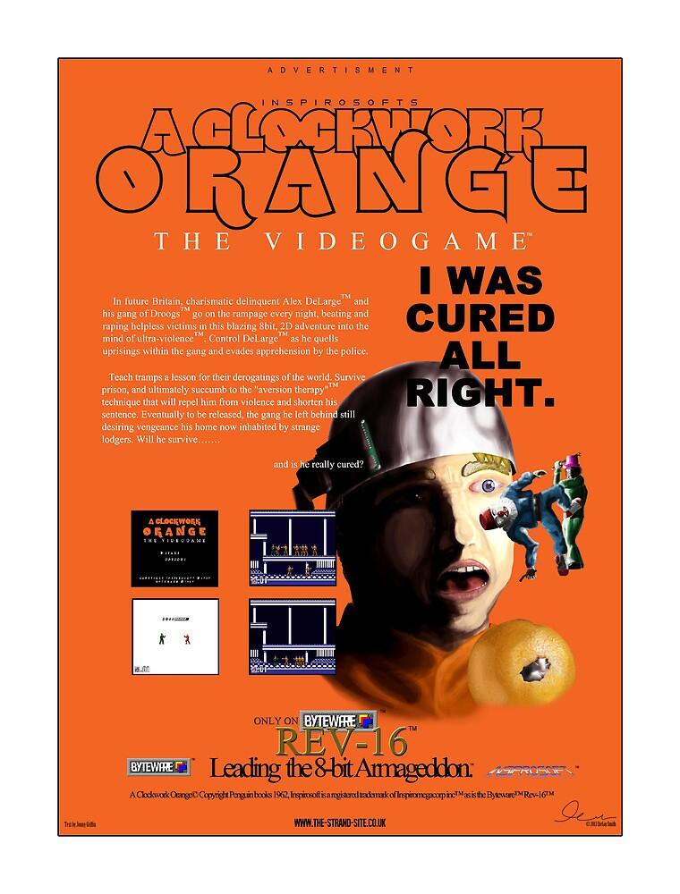 'A Clockwork Orange: The Videogame' Vintage Game Advert by BytewareShop