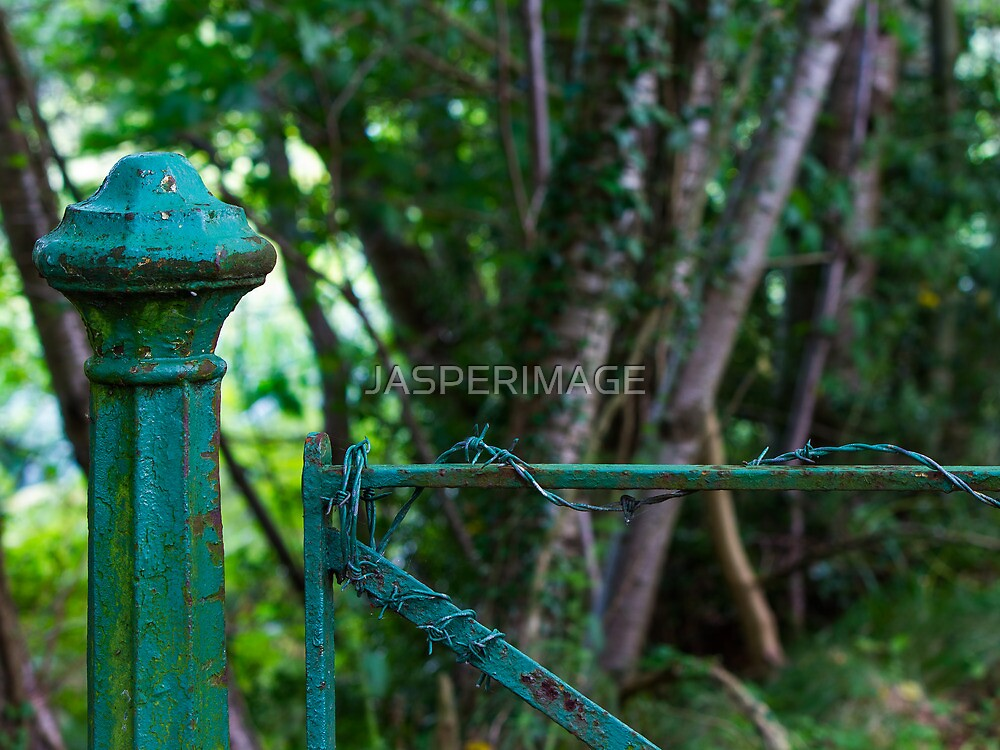 KEEP OUT by JASPERIMAGE