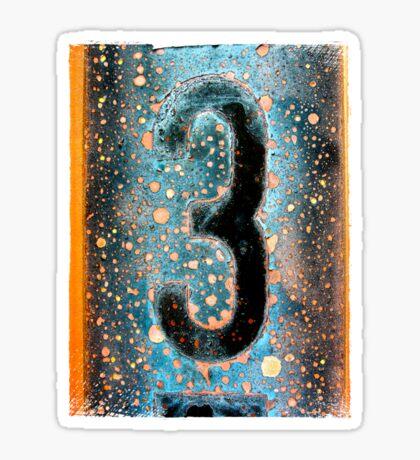 3 Sticker