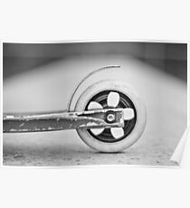 Scooter wheel Poster