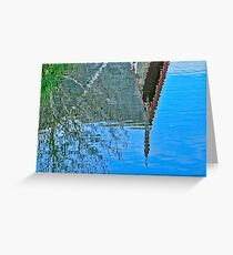 Fuzzy Reflection Greeting Card