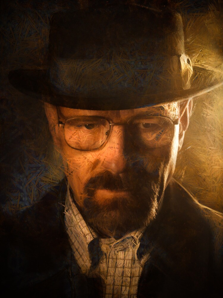 Heisenberg - Breaking Bad by Ian Hufton