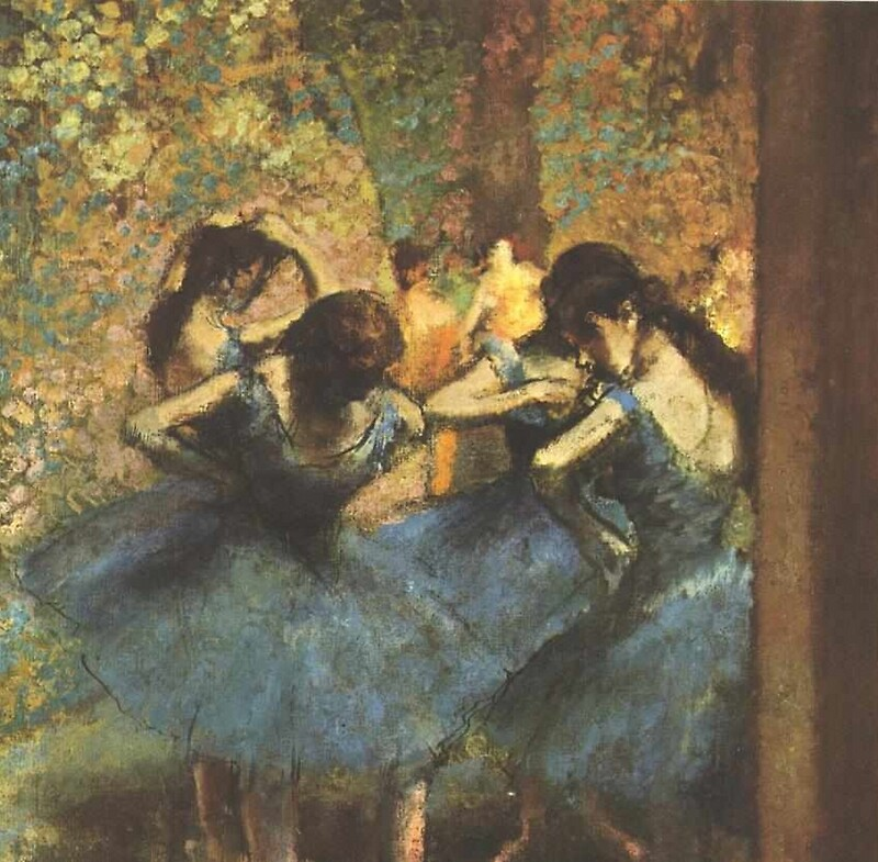 Quot Edgar Degas French Impressionism Oil Painting Ballerina