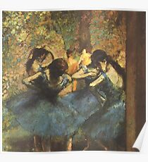 Edgar Degas French Impressionism Oil Painting Ballerina Poster