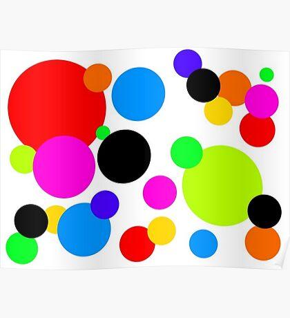 Tamsins Dots Poster