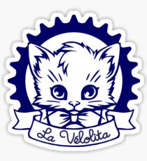 La Velolita (blue) Sticker