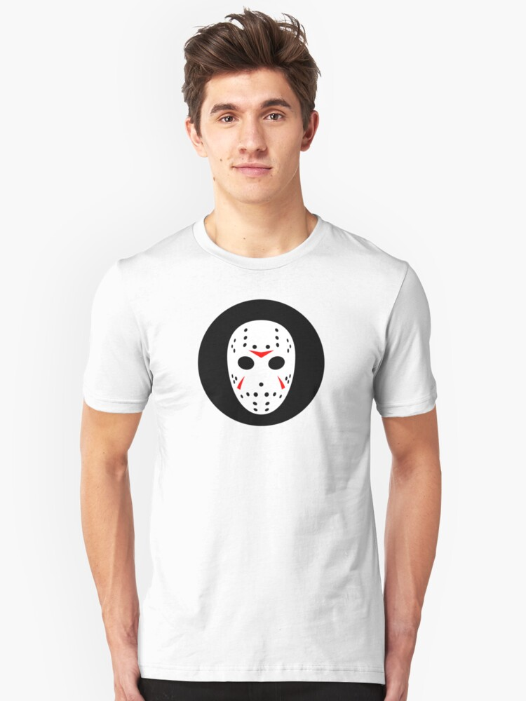 Halloween Hockey Mask Jason Friday 13th Ideology Unisex T-Shirt Front