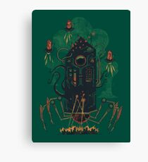 Not with a whimper but with a bang Canvas Print