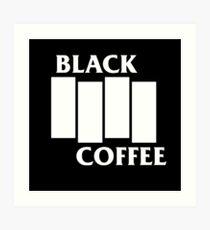 Black Flag Coffee  Art Print