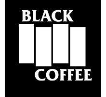 Black Flag Coffee  Photographic Print