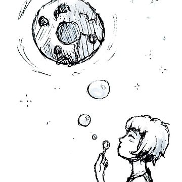 Making Bubble Moons  by TotoroTeser