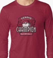 Pokemon League Champion Long Sleeve T-Shirt