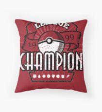 Pokemon League Champion Throw Pillow