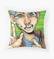 HOrrible horrible Throw Pillow