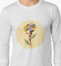 i walk out in the flowers and feel better Long Sleeve T-Shirt