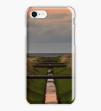 LOSSIEMOUTH - SUNDOWN ON GOLF iPhone Case/Skin