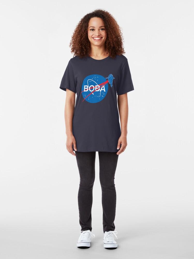 Alternate view of BOBA NASA Slim Fit T-Shirt