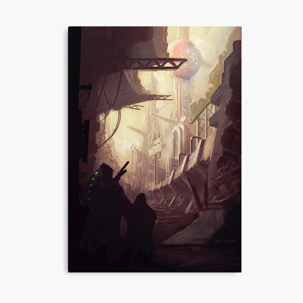 Wasteland Journey- Inside Iraxes Canvas Print