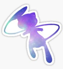 Pokemon Galaxy Mew Sticker