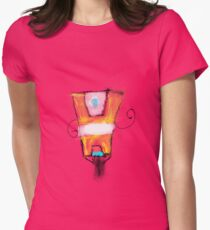 Clap Trap Womens Fitted T-Shirt