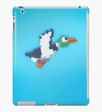 8-Bit Duck - Blue iPad Case/Skin
