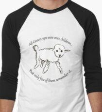 Little Prince Lamb Men's Baseball ¾ T-Shirt