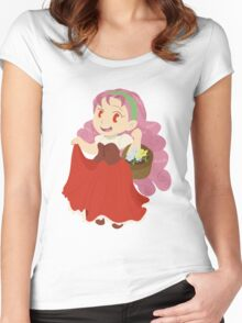 Popuri - Harvest Moon Women's Fitted Scoop T-Shirt