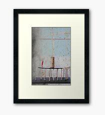 Space (I Believe In) Framed Print