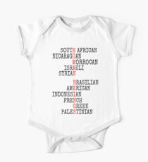 ONE HUMAN FAMILY Kids Clothes