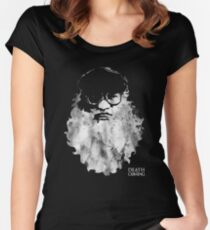 Death Is Coming Women's Fitted Scoop T-Shirt