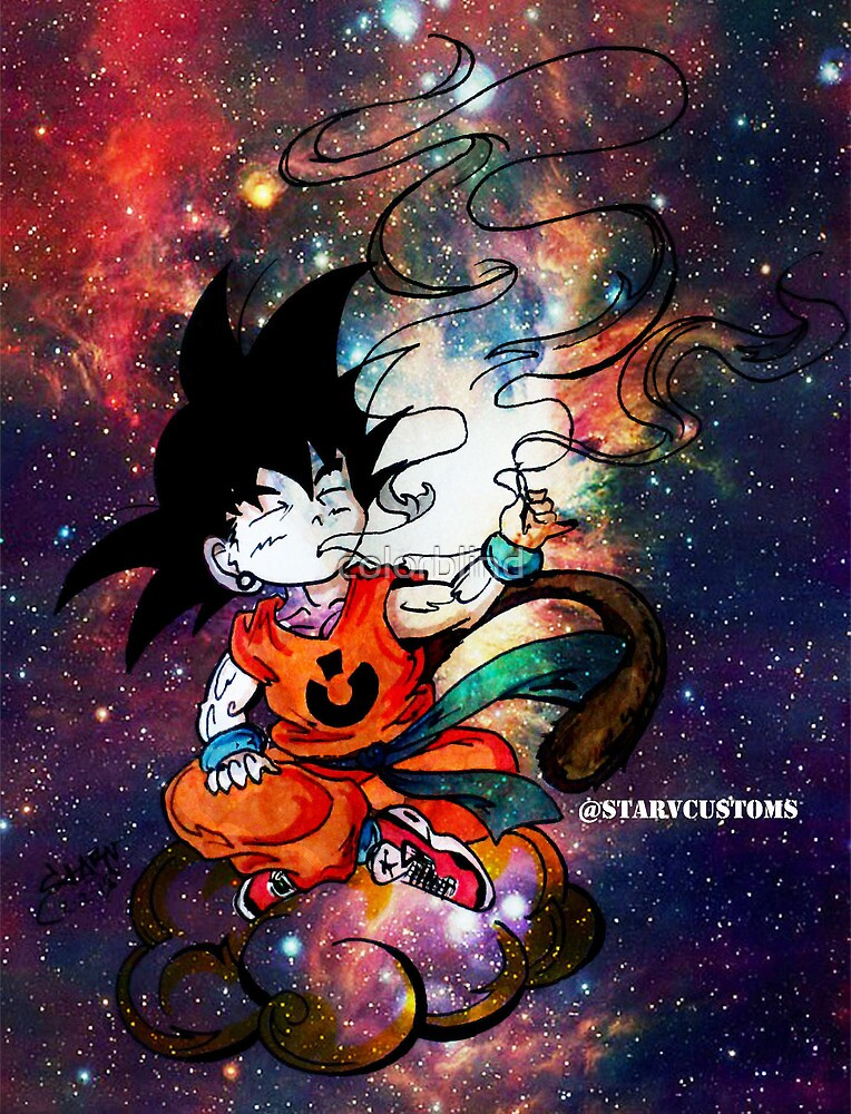 Quot Goku Quot By Colorblind Redbubble