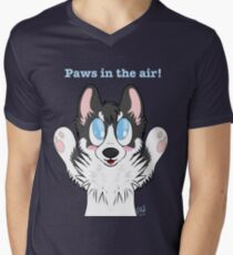 Paws in the air! Men's V-Neck T-Shirt