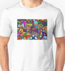 At the heart of the matter zentangle Unisex T-Shirt