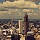 Atlanta Skyline by ubikdesigns