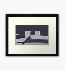 Southbank abstraction I Framed Print